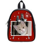 Cute Cat Small School Bag - School Bag (Small)