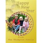Lemon New Year 5x7 Card - Greeting Card 5  x 7