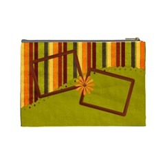Autumn s Glory Large Cosmetic Bag 1 By Lisa Minor   Cosmetic Bag (large)   8ab6aqd4j6q5   Www Artscow Com Back