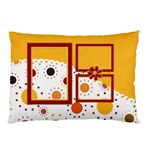 Tangerine Breeze Double Sided Pillow Case  1 - Pillow Case (Two Sides)