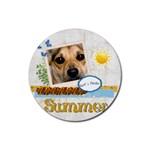 summer - Rubber Coaster (Round)