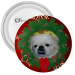 Prissy Christmas button - 3  Button