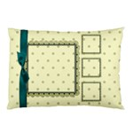 Covered in Teal 2 sided Pillow Case 1 - Pillow Case (Two Sides)