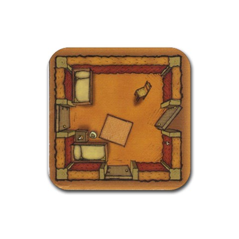 Agricola By Mauricio Torselli   Rubber Coaster (square)   O6416gnlvr0t   Www Artscow Com Front