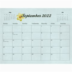 Memories/family  12 Month 2015 Calendar By Mikki   Wall Calendar 11  X 8 5  (12 Months)   F3dld618w50w   Www Artscow Com Sep 2015