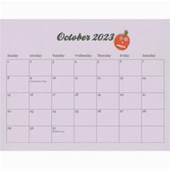 Memories/family  12 Month 2015 Calendar By Mikki   Wall Calendar 11  X 8 5  (12 Months)   F3dld618w50w   Www Artscow Com Oct 2015