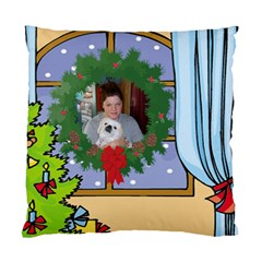 Christmas Pillow Case Two Sides By Kim Blair   Standard Cushion Case (two Sides)   Uifrpgl9apg2   Www Artscow Com Front