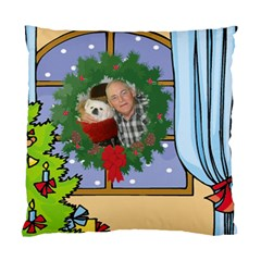 Christmas Pillow Case Two Sides By Kim Blair   Standard Cushion Case (two Sides)   Uifrpgl9apg2   Www Artscow Com Back