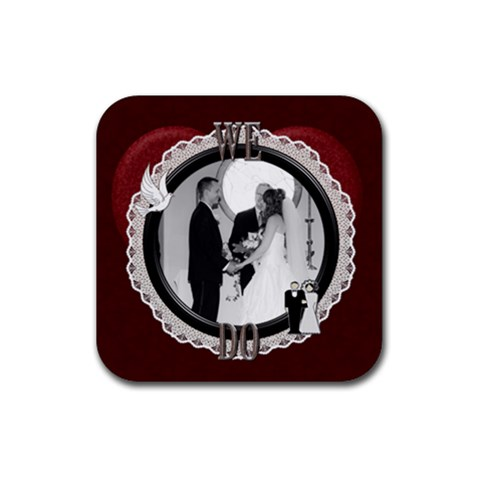 We Do Rubber Coaster By Lil    Rubber Coaster (square)   3oa84vrvi66r   Www Artscow Com Front