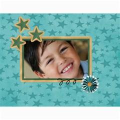 Calendar: All Stars By Jennyl   Wall Calendar 11  X 8 5  (12 Months)   5pqor6rx603y   Www Artscow Com Month