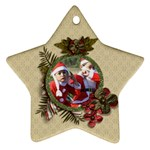 Ornament (Two Sides): Star4 - Star Ornament (Two Sides)