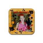 Aimee 21st Coaster - Rubber Coaster (Square)