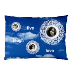 Live Laugh Love Double Sided Pillow Case By Catvinnat   Pillow Case (two Sides)   Jlwencgn1qc3   Www Artscow Com Front