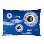 Live Laugh Love Double sided pillow case - Pillow Case (Two Sides)
