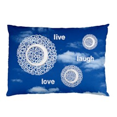 Live Laugh Love Double Sided Pillow Case By Catvinnat   Pillow Case (two Sides)   Jlwencgn1qc3   Www Artscow Com Back