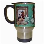 Beach Vacation-Travel Mug - Travel Mug (White)