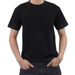 Snow White Shirt - Men s T-Shirt (Black) (Two Sided)