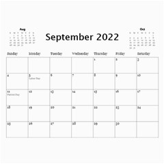 Our Production 2018 (any Year) Calendar Blue And Gold By Deborah   Wall Calendar 11  X 8 5  (12 Months)   Wyv8tyqbklhj   Www Artscow Com Sep 2018