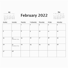 Our Production 2018 (any Year) Calendar Blue And Gold By Deborah   Wall Calendar 11  X 8 5  (12 Months)   Wyv8tyqbklhj   Www Artscow Com Feb 2018