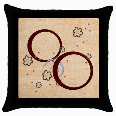 Pillow Case By Elena Petrova   Throw Pillow Case (black)   V0dsa2do1yaz   Www Artscow Com Front