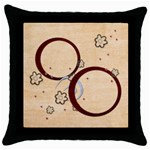 pillow case - Throw Pillow Case (Black)