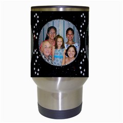 Diamond Sparkle Travel Mug By Kim Blair   Travel Mug (white)   Yy4yox9atvnv   Www Artscow Com Center
