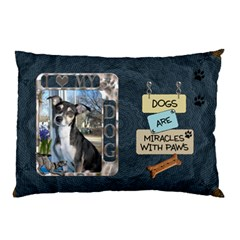 I Love My Dog 2 Sided Pillow Case By Lil    Pillow Case (two Sides)   X60gvyotkhjb   Www Artscow Com Back