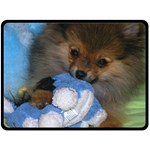 Harley Blanket - Fleece Blanket (Large)