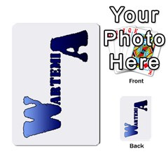 Wartemia2 By Pierre   Multi Purpose Cards (rectangle)   Xzy9tl6butdg   Www Artscow Com Back 50