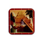 Tigris - Rubber Coaster (Square)