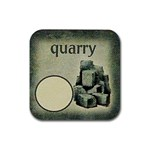 Quarry - Rubber Coaster (Square)