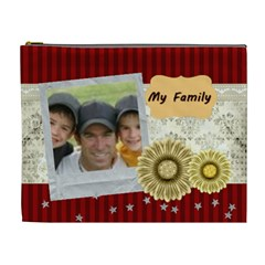 My Family By Joely   Cosmetic Bag (xl)   Ll6xsbpb9r2i   Www Artscow Com Front