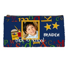 Pencil Case  Back To School 2 By Jennyl   Pencil Case   Lahbolvy4ebd   Www Artscow Com Front
