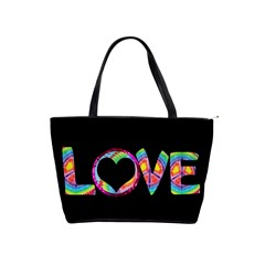 Love Tie Dye Purse By Digitalkeepsakes   Classic Shoulder Handbag   Kkzng2i2cjfu   Www Artscow Com Front