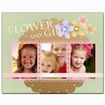 flower kids - Canvas 8  x 10