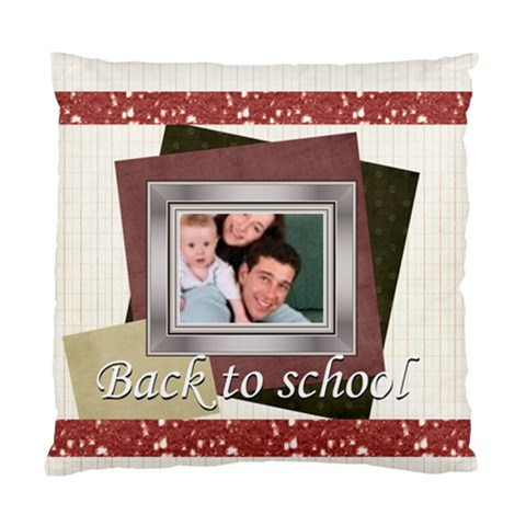 Back To School  By Joely   Standard Cushion Case (one Side)   Hrmw1bfaobjr   Www Artscow Com Front
