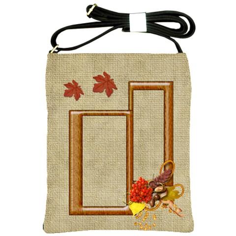 Autumn Sling Bag By Elena Petrova   Shoulder Sling Bag   1c017s16ajvp   Www Artscow Com Front