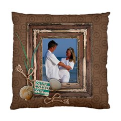 Beach/travel Cushion Case (2 Sides) By Mikki   Standard Cushion Case (two Sides)   Go34r12hit2d   Www Artscow Com Front