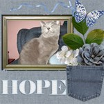 Hope - ScrapBook Page 8  x 8