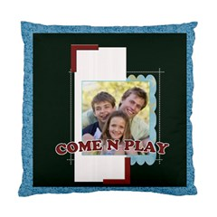 Come And Play By Joely   Standard Cushion Case (two Sides)   Fmmflkk0ivmz   Www Artscow Com Front