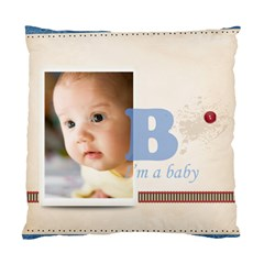 Boy Baby By Joely   Standard Cushion Case (two Sides)   Jpegrd8njb4x   Www Artscow Com Front