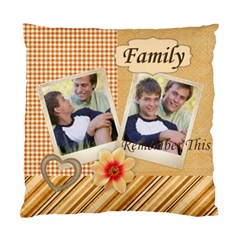 Family By Joely   Standard Cushion Case (two Sides)   Ufg8vj1gx4ca   Www Artscow Com Front