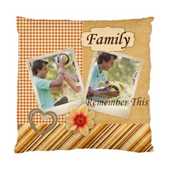 Family By Joely   Standard Cushion Case (two Sides)   Ufg8vj1gx4ca   Www Artscow Com Back