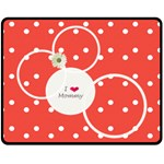 Love Mommy Medium blanket - Fleece Blanket (Medium)