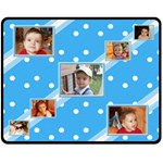 My Baby Boy Medium blanket - Fleece Blanket (Medium)