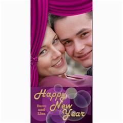Happy New Year 4x8 Photo Card 2 By Deborah   4  X 8  Photo Cards   006w0okizl5s   Www Artscow Com 8 x4 Photo Card - 10