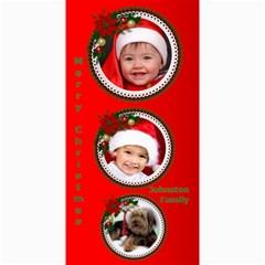 Merry Christmas 4x8 Photo Card 2 By Deborah   4  X 8  Photo Cards   0qhih2ivz0nt   Www Artscow Com 8 x4 Photo Card - 7