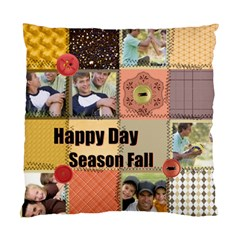 Happy Season By Joely   Standard Cushion Case (two Sides)   J22zilag8big   Www Artscow Com Front
