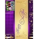 Happy New Year 2018 5x7 Card - Greeting Card 5  x 7