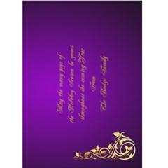 Happy New Year 2015 5x7 Card By Deborah   Greeting Card 5  X 7    Iub6p6dvok8c   Www Artscow Com Back Inside